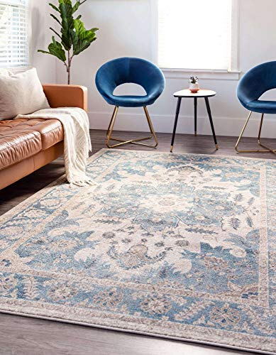 8'x 10' Unique Loom Salzburg Collection Traditional Oriental Area Rug  $112 at Amazon