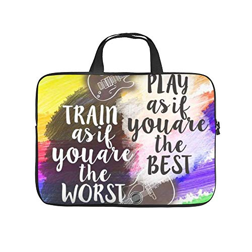 "Play As If You are The Best 10 Inch Laptop Sleeve Case Protective Cover Carrying Bag for 9.7"" 10.5"" Ipad Pro Air/ 10"" Microsoft Surface Go/ 10.5"" Samsung Galaxy Tab"