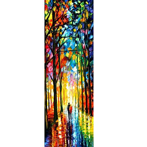 RomantiassLu Hermosa Pintura de Lienzo Cuadrada Vertical Moderna Impresiones artísticas Tradicionales 3 Piezas Europa...