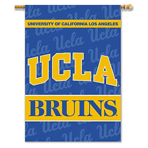 NCAA UCLA Bruins 2-Sided 28-by-40 inch House Banner With Pole Sleeve