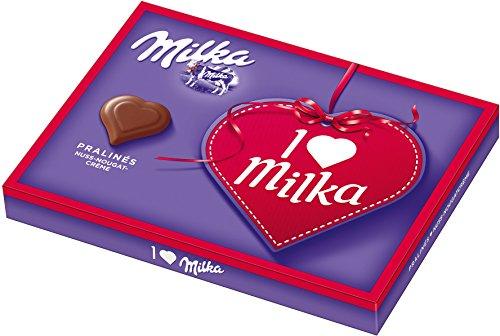 Milka - I love Milka Pralinés Nuss-Nougat-Crème - 5x110g
