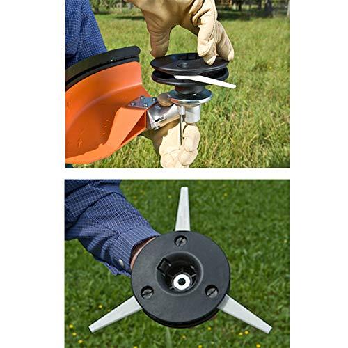 BGTOOL 4002 710 2189 Trimmer Head Fit for Stihl FS44 FS55 FS56 FS70 FS80 FS83 FS85 FS90 100RX FS110 FS120 FS130 FS200 FS250 Trimmers Replace for Stihl Polycut 20-3 Trimmer Head
