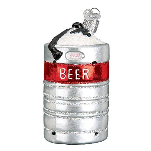 Alte Welt Weihnachten Bierfass Bierfass aus Aluminium