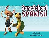 song school spanish activity in summer morning basket