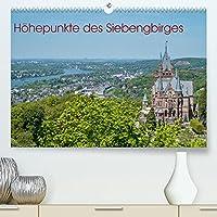 Hoehepunkte des Siebengebirges (Premium, hochwertiger DIN A2 Wandkalender 2022, Kunstdruck in Hochglanz): Die schoensten Punkte im Siebengbirge (Monatskalender, 14 Seiten )
