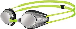 Arena Tracks Junior Mirror Gafas de Natación, Unisex Adulto, Plateado (Silver/Black), Talla Única
