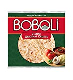 Boboli, 2 Mini 8 Pizza Crusts, 10oz Package (Pack of 3) by Boboli