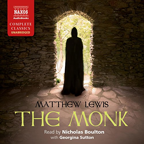 The Monk audiobook cover art