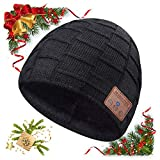 Bluetooth Beanie, Mens Gifts, Wireless Bluetooth Hat, Gift for Men Women, Knit Music