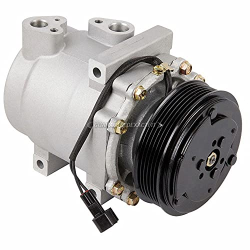 AC Compressor & A/C Clutch For Ford Explorer V8 Crown Victoria Mercury Mountaineer Grand Marquis Lincoln Town Car 06-11 - BuyAutoParts 60-02176NA NEW