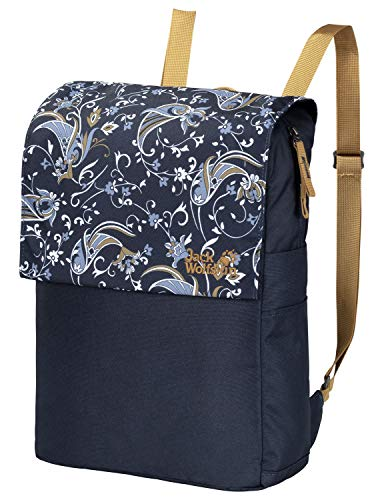 Jack Wolfskin Unisex – Erwachsene Lynn Pack Alltagsrucksack, Midnight Blue All Over, ONE Size