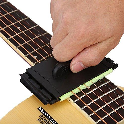 OFKPO Limpiador para Guitarra Eléctrica de Cuerdas y Diapas