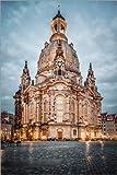 Poster 40 x 60 cm: Frauenkirche Dresden von Sören Bartosch