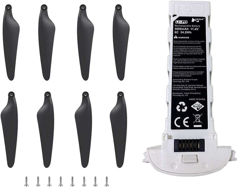 ventas al por mayor Happy event - Juego de 4 baterías de repuesto para para para dron Hubsan Zino H117S GPS RC  Venta barata