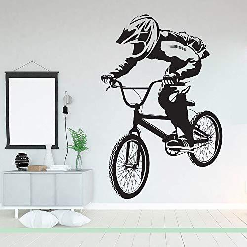 Bicicleta BMX Ciclismo Inicio Vinilo Pegatinas de pared Video Gamers