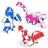 YXLM Conjunto de Tres Piezas, Variedad Magic Ruler para niños, 48 segmentos 60 segmentos 72 segmentos, Juguetes educativos de Cubo de Kindergarten Rubik para Principiantes,48 60 72
