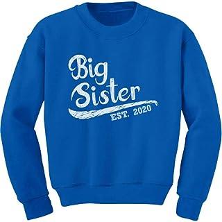 Big Sister Est 2020 - Sibling Gift Idea Toddler/Kids Sweatshirt