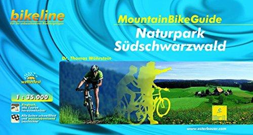 Mountainbikeguide Naturpark Südschwarzwald: Exakte Landkarten, Höhenprofile, Wegklassifikation, Unterkunftsverzeichnis (Bikeline - MountainBikeGuides)