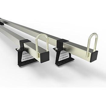 VAUXHALL VIVARO Van Roof Rack Bars With Aerofoil 4 BARS 2001-14 Autorack MegaBars HEAVY DUTY