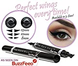 Winged Eyeliner Stamp – The Flick Stick by Lovoir Black, Waterproof Make Up, Smudgeproof, Long Lasting...