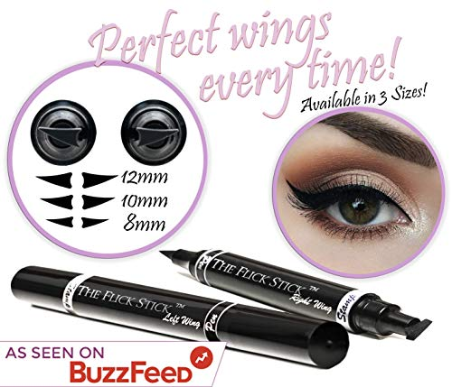 Eyeliner Stamp WingLiner Black, Waterproof, Smudgeproof Winged Liquid Eye Liner Pen 2 Pens In A Pack