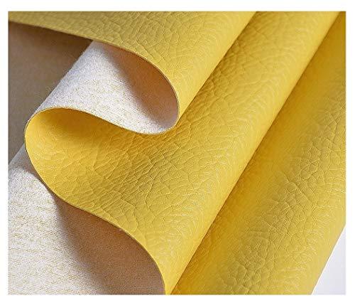 MAGFYLY Ecopelle Materiale Tessuto Ecopelle Morbida Finta Pelle Tessuto in Similpelle per...