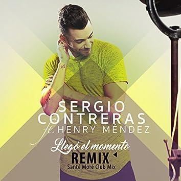 Llegó el momento (feat. Henry Méndez) [Santé Moré Club Mix]