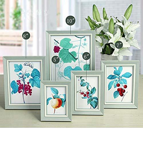 XY399 graden Familie fotolijst 5/6/7/8/10 inch Fotolijsten Kinderen Kamer Decoratie Gift Desktop Fotolijst 3 Kleuren Bruiloft Verjaardag Fotos Frame 1PC