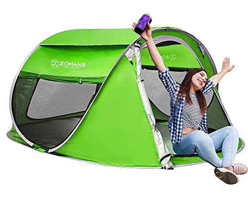 Zomake - best instant tent for backyard camping