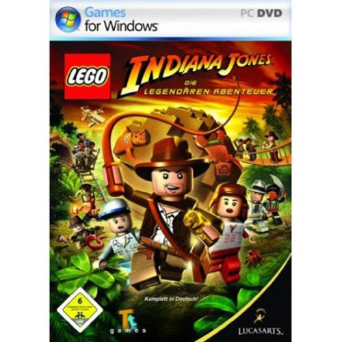 LucasArts LEGO Indiana Jones - Juego (PC, DEU, 512 MB, Intel P3 1.0 GHz, 128 MB)