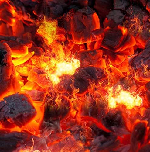 Custom Mural Wallpaper Modern Fire Flame 3D Floor Baldosas Pegatinas Estudio de la sala de estar PVC Impermeable Use 3D Floor Wallpaper Roll, 350 * 245 cm