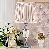 Lámpara de mesa Inicio Tabla lámpara de lectura de la lámpara del dormitorio...