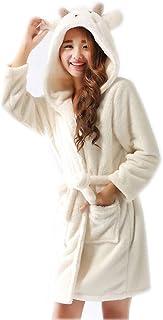 Kids Unisex Children Bath Robe Dressing Gown Hooded Flannel Pyjama Winter Warm Sleepwear 7-13 Years