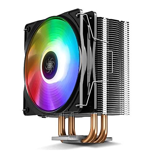 Ventilador de radiador de CPU refrigerado por aire de 300 tubos de cobre 1150 ordenador de sobremesa host I5 I7 Matt Mute AMD RGB Fuente de alimentación