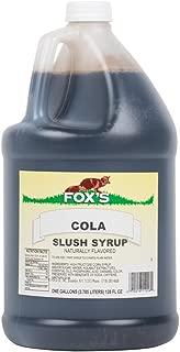 TableTop King 1 Gallon Cola Slush Syrup - 4/Case