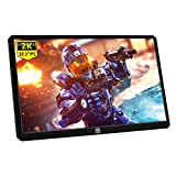 Corkea 13.3 Inch 2K Resolution Portable Gaming Monitor IPS Quad-HD 25601440 LCD Display with USB C/Hdmi Input,HDR,USB Powered,Ultra Slim Only 1CM,CNC Alu Shell,Built in Speakers