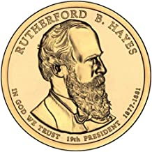 2011 S Proof Rutherford B. Hayes Presidential Dollar Choice Uncirculated US Mint