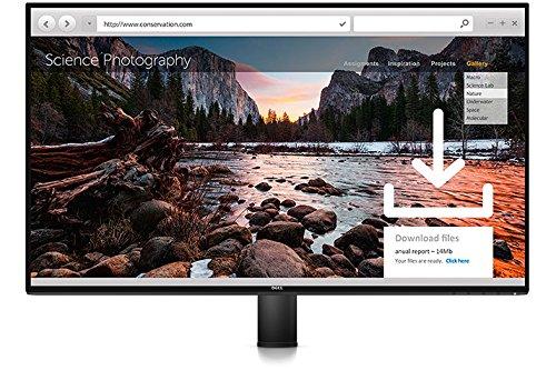 DELL UltraSharp U2717DA 27' Wide Quad HD IPS Matt Black