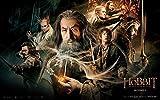 WYFCL 1000 Rompecabezas, Rompecabezas para Adultos y niños-Movie Hobbit Poster Puzzle-Increíbles Juegos de desafío, Juegos cooperativos para Toda la Familia