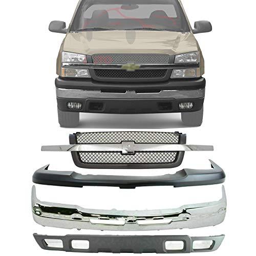 03 silverado bumper cover - 6