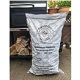 Darlux 15 kg de carbón vegetal Quebracho-Blanco Premium de 60-180 mm ** Proveedor de la casa de Steffen Zuber Estancia Beef Club ** Calidad de casa de carne, 1,87 ?/1 kg
