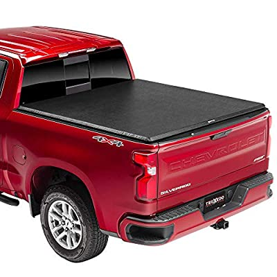 """TruXedo TruXport Soft Roll Up Truck Bed Tonneau Cover   271801   fits 14-18, 2019 Limited/Legacy GMC Sierra & Chevrolet Silverado 1500 5'8"""" bed"""