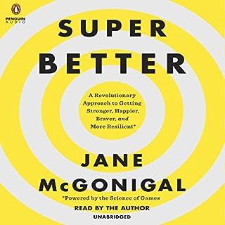 SuperBetter audiobook cover art