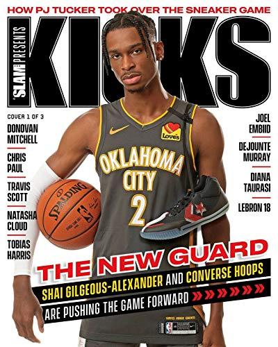 SLAM Presents KICKS Magazine Volume 23 2020 - Shai Gilgeous-Alexander Cover