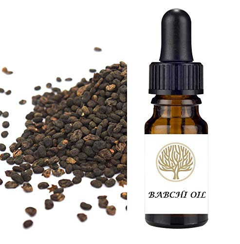 EkoFace 100% Natural Babchi (Bakuchi, Bakuchiol) Face & Body Oil. Natural Treatment for Skin Disorders (10ml)