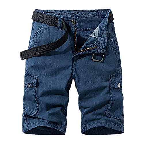 Pantalones Cortos de Verano Pantalones Cortos Casuales Pantalones de Uniforme