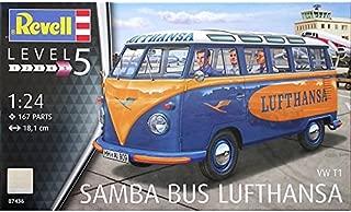 Revell 07436 VW  Samba Bus Lufthansa Model Kit