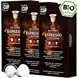 BIO Kaffeekapseln von My-CoffeeCup | Kompatibel mit Nespresso*-Maschinen | 100% kompostierbare...
