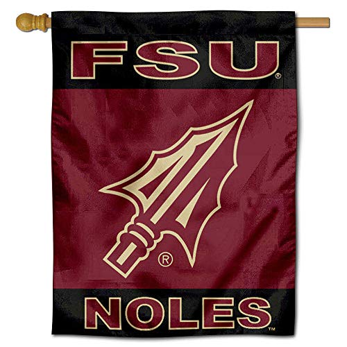 College Flags & Banners Co. FSU Seminoles Spearhead Double Sided House Flag