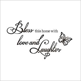 Best bless this home with love and laughter wall decal Reviews